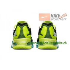 Nike Air Max 2015 Chaussures de Running Pour Homme Noir Vert 698902-003 52348fef6b8