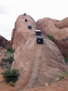 Lion's Back - Moab, Utah  - I don't think I have the nerves to handle this climb.
