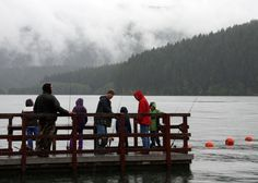 Detroit Lake fishing derby: 'Even though it was wet, we still had a blast'