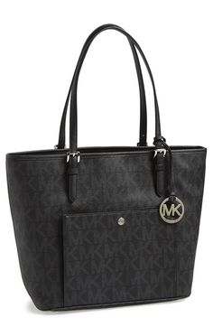 MICHAEL Michael Kors 'Large Jet Set' Tote available at #Nordstrom