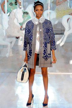 Great coat! ~ Louis Vuitton Spring 2012