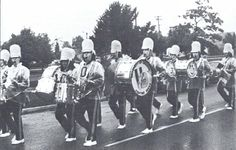 Oregon marching band 1976. From the 1976 Oregana (University of Oregon yearbook). www.CampusAttic.com