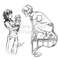 Meeting his daughter for the second time by Saij-Spellhart Miraculous Ladybug Kiss, Miraculous Ladybug Fanfiction, Meraculous Ladybug, Ladybug Comics, Lady Bug, Marichat Comic, Marinette And Adrien, Anime Comics, Kitty