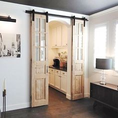 Find much more details concerning french doors bedroom French Doors Bedroom, French Doors Patio, Antique French Doors, Glass Barn Doors, Farmhouse Remodel, Contemporary Home Decor, Contemporary Doors, Interior Barn Doors, Farmhouse Interior Doors