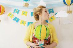 Hot air balloon party!