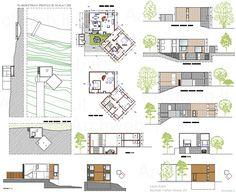 Louis Kahn - Norman Fisher House 2D