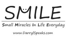 When you SMILE, you create Small Miracles In Life Everyday #KeepSmiling :)