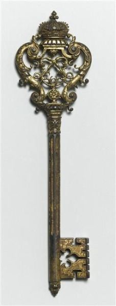Antique key to Chateau Versailles