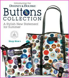 Disney Store Dooney And Bourke Buttons Collection
