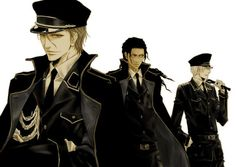 Aizen, Tozen, and Gin