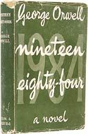 Nineteen Eighty-Four by George Orwell (1949) link to 50 Essential SF Books