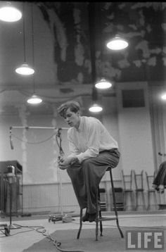 Glenn Gould (Gordon Parks. 1956)