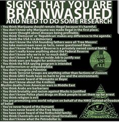 If you aren't aware of every single thing on this list, don't bother commenting or debating because your opinions are like assholes...full of hot air.