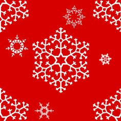 Free Snowflakes On Red Background | Twitter Backgrounds | Wallpaper Images | Background Patterns