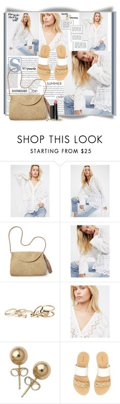 """The Style That's All You"" by summersunshinesk7 ❤ liked on Polyvore featuring Free People, Mar y Sol, Arbonne, GUESS, Bling Jewelry and Soludos"