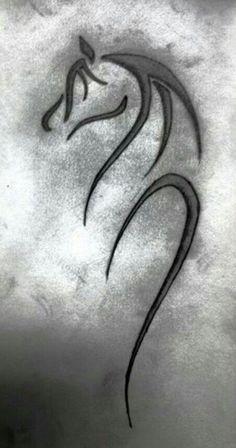 Horse embroidery design - Tattoo - #Design #Embroidery #Horse #Tattoo Small Horse Tattoo, Tatoo Dog, Horse Tattoo Design, Tattoo Designs, Celtic Horse Tattoo, Tribal Horse Tattoo, Tattoo Ideas, Tribal Wings, Tribal Dragon Tattoos