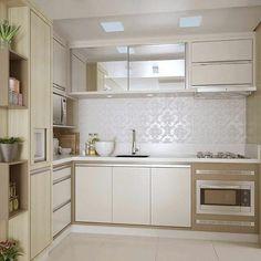 """906 curtidas, 9 comentários - Ceusa Revestimentos Cerâmicos (@ceusarevestimentos) no Instagram: """"Golden Branco  Por @ambientalizearquitetura   #kitchen #home #instadecor #inspiração…"""""""