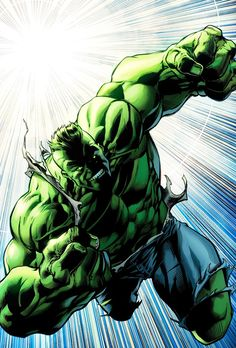 Hulk by Mark Bagley