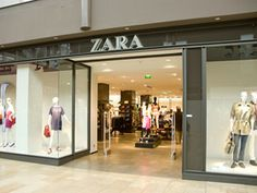 Zara, mooie gevel, sterk gepresenteerd