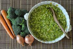 Broccoli with Orzo Soup