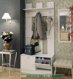 прихожая Ольга-1 перфорированная - Мебель с вами