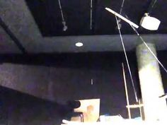 """Preparing a sound installation for a theater performance Oct. 2015 For whom the bell tolls, an expression from a sermon by John Donne. : """"... never send to k..."""