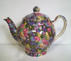 Chintz at Foragers Vintage China, Vintage Tea, Teapots And Cups, Teacups, Cafetiere, Tea Cozy, My Cup Of Tea, Chocolate Pots, China Patterns