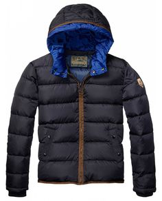 Quilted Nylon Jacket > Mens Clothing > Jackets at Scotch & Soda - Official Scotch & Soda Online Fashion & Apparel Shops