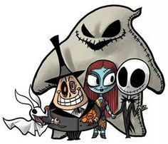 I would get this tattooed with lock, shock and barrel! they are just too cute! Makes me think of Grim Adventures of Billy and Mandy