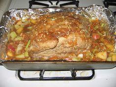 Jen's Concoctions: A log of delicious culinary experiments...: Pork Sirloin Roast