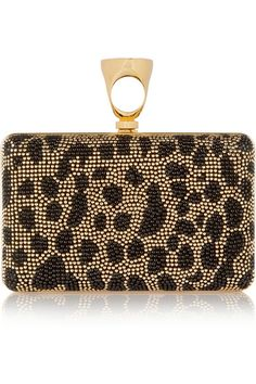 Tom Ford | Studded leather clutch | NET-A-PORTER.COM