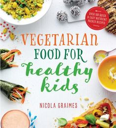 by Nicola Graimes To be a healthy vegetarian, it's not enough to just give up meat. Vegetarian children have different dietary requirements to vegetarian adults, so particular attention is needed to ensure they get sufficient amounts of the right nutrients. Unlike other similar titles on the market, Vegetarian Food for Healthy Kids concentrates on these nutritional demands to see what it takes to raise healthy, well-nourished vegetarian children. What?s more, the book tack...