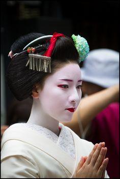 Beautiful Japanese Woman.