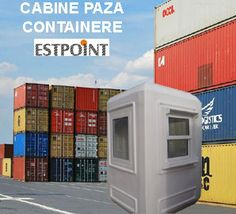Cabine paza si containere Estpoint, vanzari cabine paza si vanzari containere birou, containere maritime si containere depozitare in Romania.