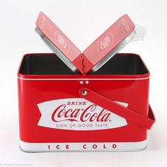 Coca-Cola Picnic Basket Tin Box