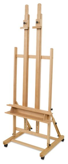 Heavy-Duty H-Frame Easel<---Painting relaxes me.....