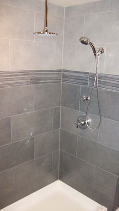 shower tile ideas | Shower tile and fixtures