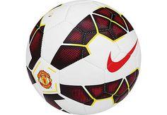 Nike Manchester United Prestige Soccer Ball - White.