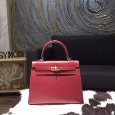 hermes birkin bag 30cm rouge h clemence gold hardware