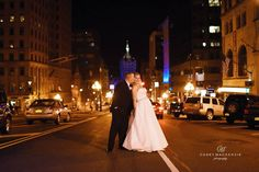 Stopping traffic and looking so in love is easy for this 90 State Events couple!