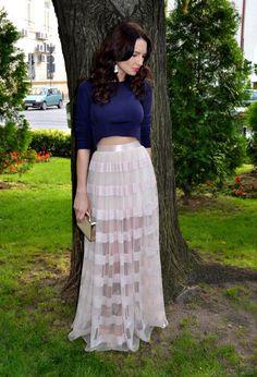Flowy Skirt #collectionskirt #FlowySkirt #anoukblokker #Flowy #Skirt #maxiskirt www.2dayslook.com