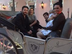 Excited to host music superstar Kelly Clarkson and her family for a carriage tour. Super nice people!
