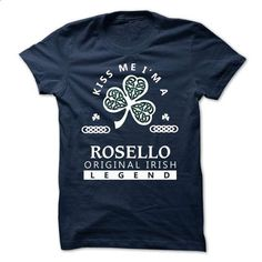 ROSELLO - Kiss me Im Team - #big sweater #red sweater. PURCHASE NOW => https://www.sunfrog.com/Valentines/-ROSELLO--Kiss-me-Im-Team.html?68278