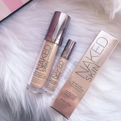 Urban Decay + Naked Skin + Weightless Ultra Definition Makeup ¤ If you like this pin, find more at @rosajoevannoy ツ