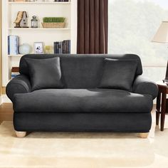 Slipcovers for Loveseat with Two Cushions