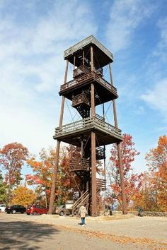 Peninsula State Park: Eagle Tower-Fish Creek, Door County, Wisconsin.... I actually climbed this!!
