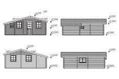 Plano 2 Casa de Madera Emily