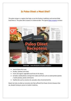 Kick start your day with a clean and healthy Paleo Dieet Recepten meal and keep yourself fueled with paleo snacks. Browse 100s of free paleo recepten that are gluten free.
