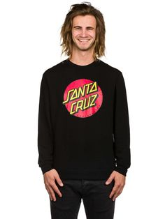 Buy Santa Cruz Classic Dot Crew Sweater online at blue-tomato.com