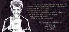 Kurt Vonnegutss quotes on writing                                                                                                                                                                                 More